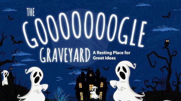 Google Graveyard: Der Friedhof der Google-Dienste