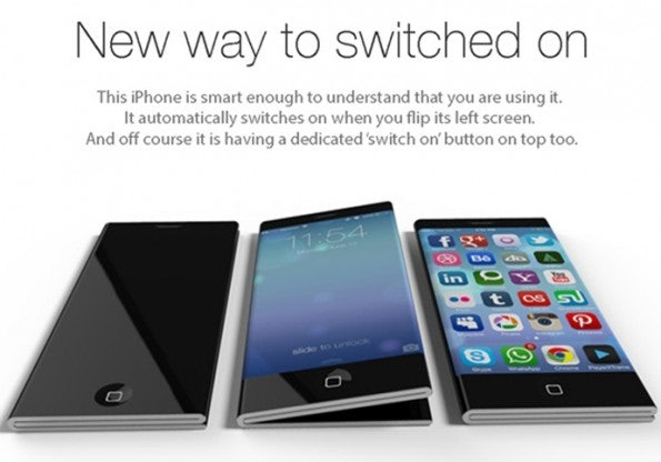 iPhone-6-Konzept: Drei Größen in einem Gerät. (Bild: Pritesh Chavan/Yanko Design)