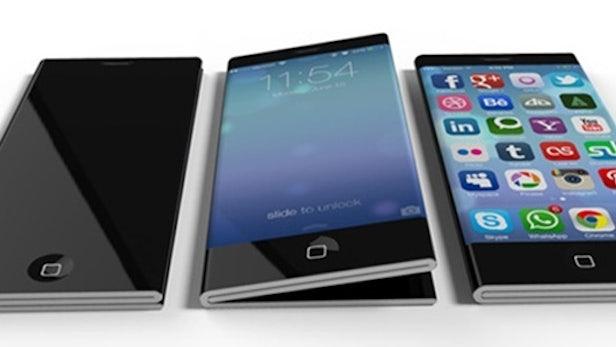 iPhone 6: Eigenwilliges Design-Konzept mit faltbarem Display