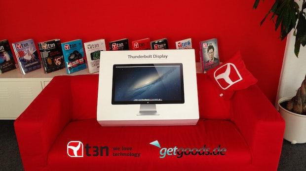 Der Hauptgewinn unseres Gewinnspiels: ein Apple-Thunderbolt-Display.