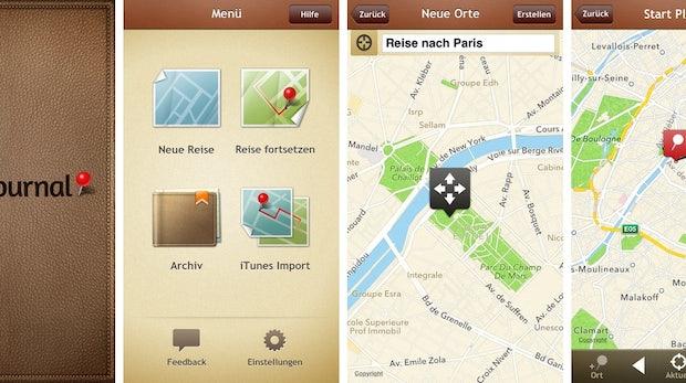 Trip Journal ist ein Reisetagebuch mit erweiterten Funktionen. (Screenshot: iTunes)