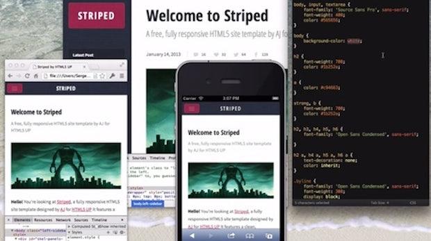 Emmet LiveStyle: CSS simultan im Editor und Browser bearbeiten