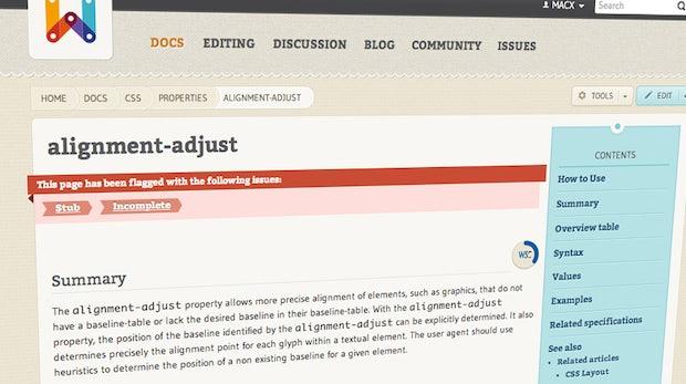 WebPlatform – Entwickler helfen beim Aufbau der Webstandards-Dokumentation