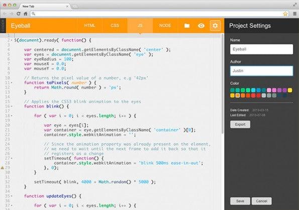 Coder: Vorallem Kinder sollen auf dem Raspberry Pi Web-Apps entwickeln können. (Screenshot: Google)
