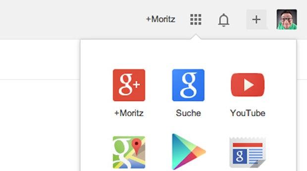 Google Redesign: Logo im Flat-Design und neue Navigationsleiste