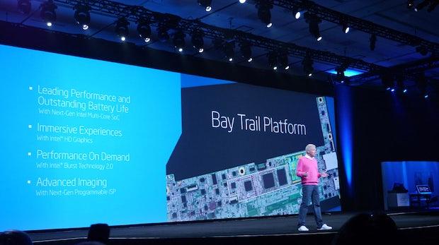 Bay Trail: Intel will mit einem Chip Smartphones, Tablets und Convertibles dominieren [IDF 2013]