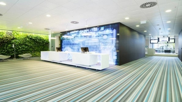 Eindrücke des Microsoft-Office in Wien, Österreich.