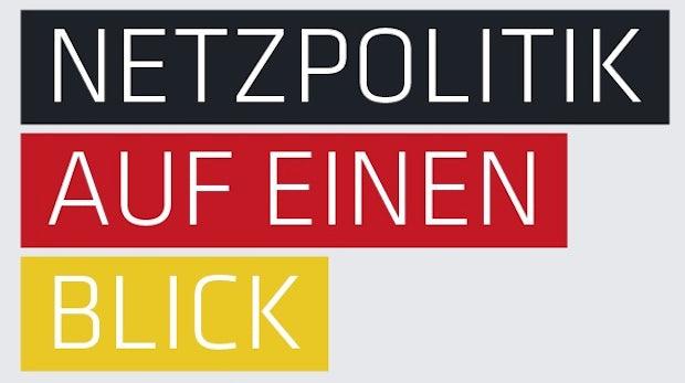 Netzpolitik auf einen Blick: Das sagen die Parteien zu netzpolitischen Themen [t3n-Infografik]