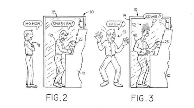 Elektroschocks, High-Five-Maschinen und Hyperraum-Energie: Die 7 bizarrsten Patentanträge
