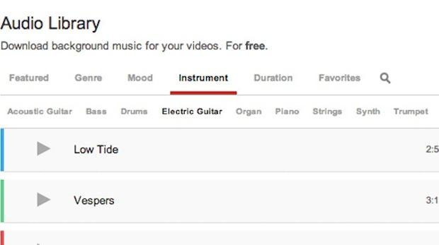 YouTube startet Bibliothek für lizenzfreie und kostenlose Musik