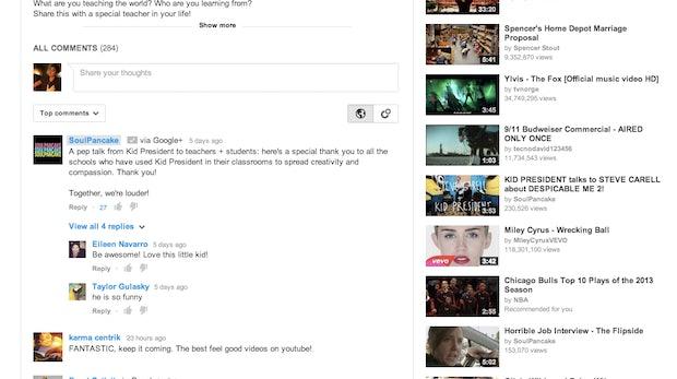 YouTube-Kommentare nur noch mit Google+-Account