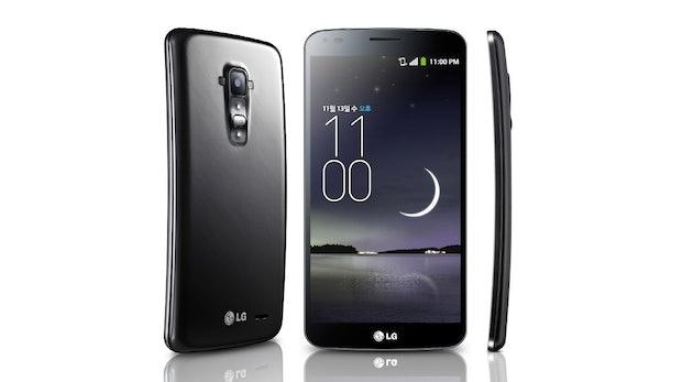 LG G Flex: Gebogenes Smartphone mit Selbstheilungskräften