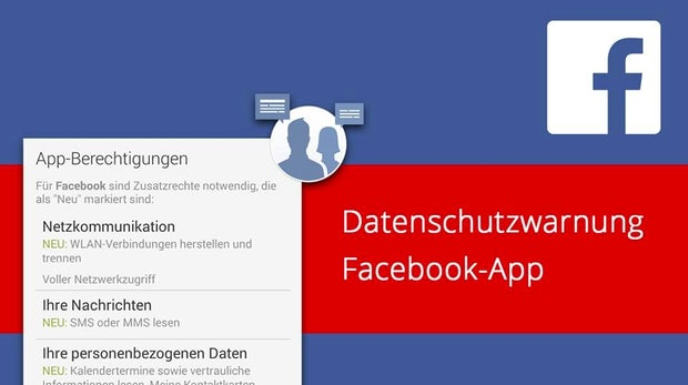 WLAN, SMS, Kalender und mehr – Facebook 4.0 für Android greift nach euren Daten [Update]