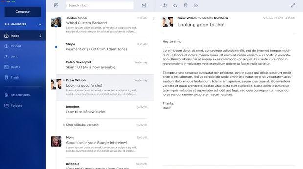 E-Mail der Zukunft: Dieser schicke Client soll bald Realität werden