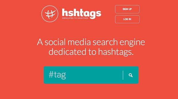 hshtags: Das Google für die Social-Media-Suche
