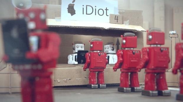 iDiots von BLR: Hörige Konsumenten, fremdgesteuert wie Roboter [Video]