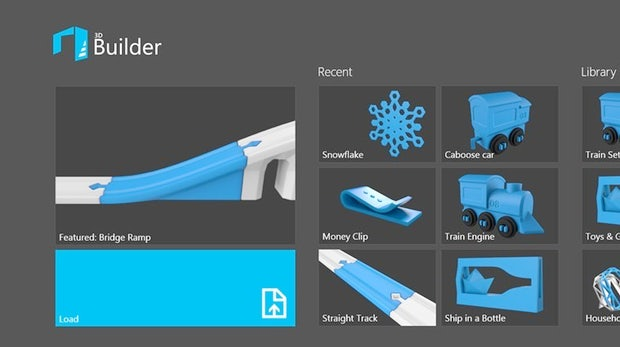 Microsoft 3d Builder Einfache Windows 8 App F R Den 3d