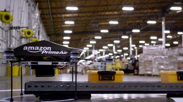 Amazon-Patent enthüllt, wie die Paket-Zustellung per Drohne funktionieren soll