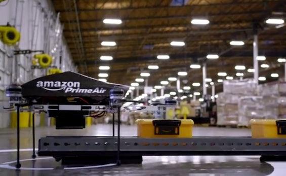 Amazon Prime Air: Versandhändler will in 30 Minuten mit ferngesteuerten Drohnen ausliefern