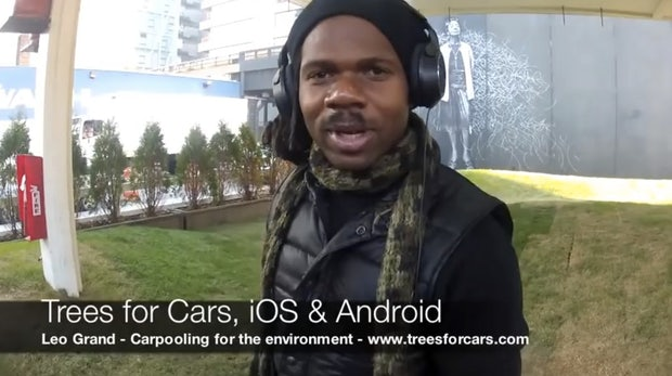 Leo Grand: Wie ein obdachloser New Yorker eine eigene App auf die Beine stellte