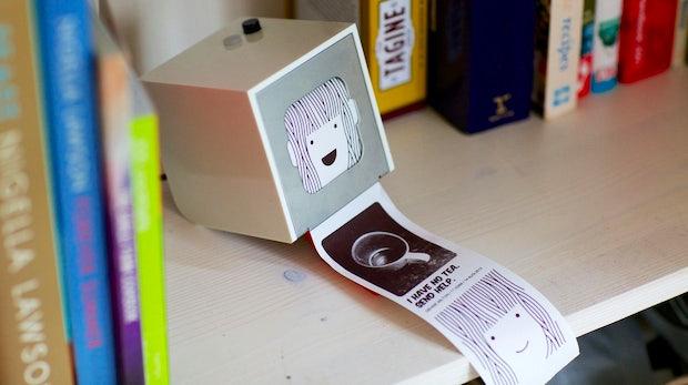 Little Printer: So schlägt sich der kleine Drucker im Alltag