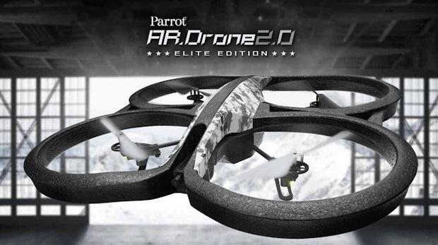 Zombie-Drohnen: Parrot AR.Drone mit Raspberry Pi kapert fremde Drohnen