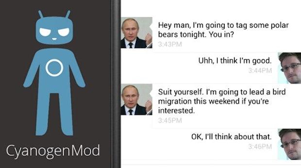 CyanogenMod verschlüsselt Nachrichten zukünftig standardmäßig
