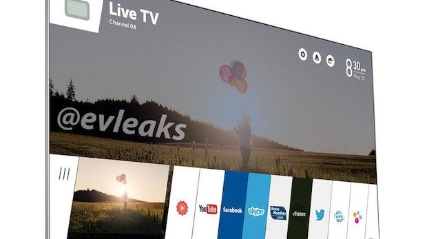 LG: Leak zeigt neuen SmartTV mit webOS