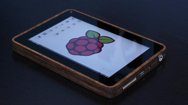 PiPad: Schickes Raspberry-Pi-Tablet Marke Eigenbau