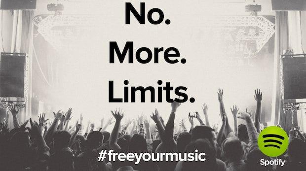 Spotify für Desktop: Mit kostenlosem Account jetzt endlos Musik hören