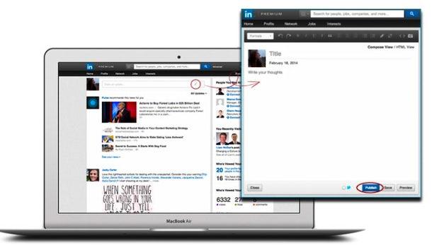Bloggen auf LinkedIn: Karriere-Netzwerk öffnet Publishing-Plattform für alle
