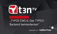TYPO3 CMS: Das TYPO3-Backend kennenlernen [t3n-Video-Workshop]