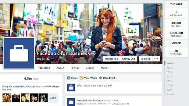 Neues Layout für Facebook-Pages: Finales Rollout noch in dieser Woche
