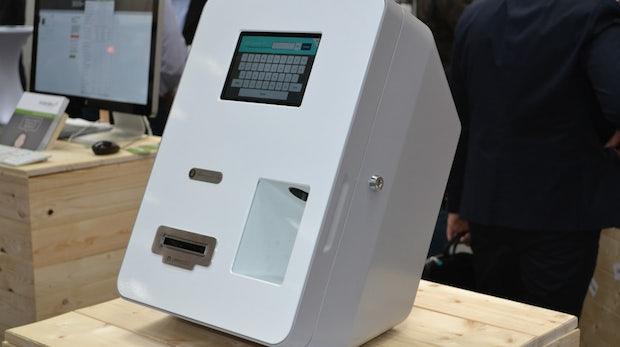 Bitcoin-Geldautomat: Wollt ihr ewig bar bezahlen? [CeBIT 2014]