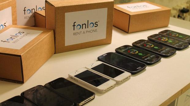 Fonlos: Berliner Startup verleiht Smartphones
