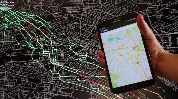 Nie mehr Stau: Graphmasters lässt uns Straßennetze effizient nutzen [CeBIT 2014]