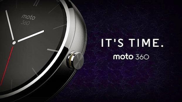 Moto 360: Eine neue Smartwatch von Motorola, die mit Googles neuem Android-Wear-Betriebssystem läuft. (Quelle: Motorola)