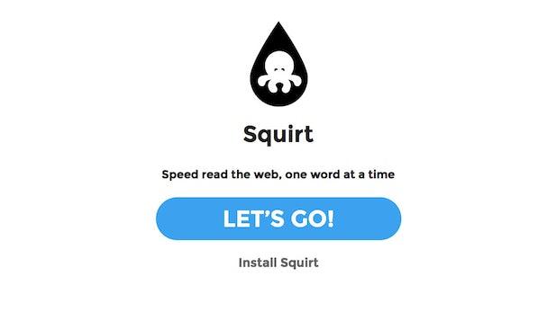 Squirt: So liest Du jede Webseite wie auf Speed