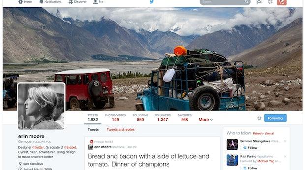 Twitter: Neue Profile ab jetzt auch für bestehende Nutzer verfügbar