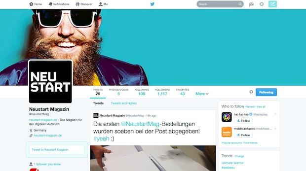 Designkonzept erklärt: Die Idee hinter den neuen Twitter-Profilseiten