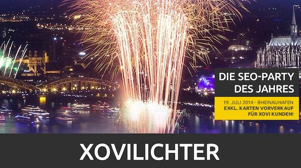 """SEO-Wettbewerb """"Xovilichter"""": Rankings im Wert von 25.000 Euro"""