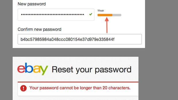 Nach dem eBay-Hack: Schwacher Passwortschutz und weitere Sicherheitslücken endeckt