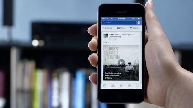 Was guckst du? Facebook bläst zum Angriff gegen Shazam und Soundhound
