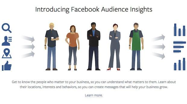 Kundengewinnung dank Audience Insights: Facebook launcht neues Marketing-Tool
