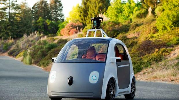 Anschnallen und festhalten: Google stellt sein erstes selbstfahrendes Auto vor