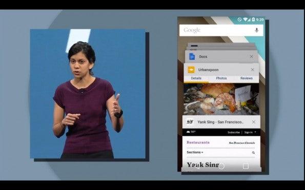 Browser-Tabs erscheinen zukünftig als einzelne Elemente in der Multitasking-Ansicht. (Quelle: golem.de)