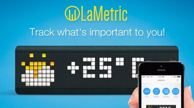 Lametric: Universelle LED-Anzeige für jedes Büro und jeden Haushalt