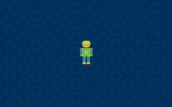 """Zum Download: <a href=""""http://simpledesktops.com/browse/desktops/2011/mar/28/robot/"""">SimpleDesktops</a>."""