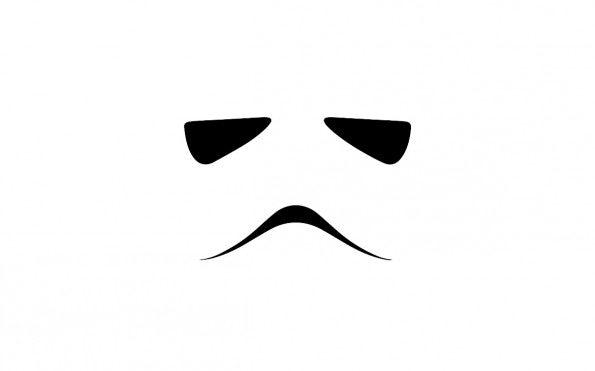 "Zum Download: <a href=""http://simpledesktops.com/browse/desktops/2013/may/16/stormtrooper-minimalist/"">SimpleDesktops</a>."