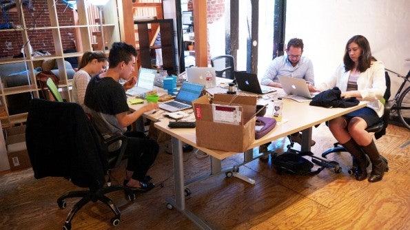 Neues Feastly-Office in San Francisco: Noch sieht alles etwas sporadisch aus. (Bild: Andreas Weck)